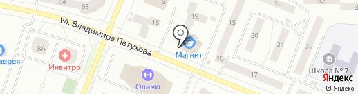 МТС на карте Нефтеюганска