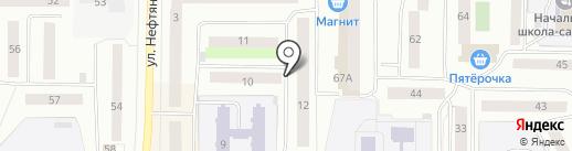 Мастерская по изготовлению печатей и компьютерной гравировки на карте Нефтеюганска
