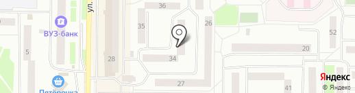 Почта банк, ПАО на карте Нефтеюганска