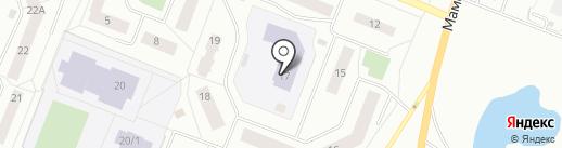 Детский сад №14 на карте Нефтеюганска