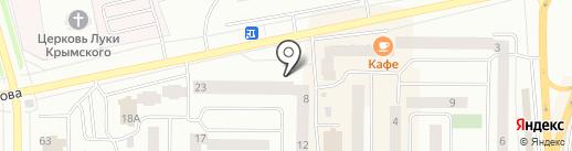 Росгосстрах банк, ПАО на карте Нефтеюганска