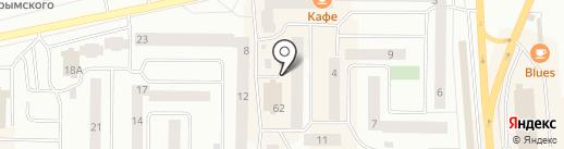 Жильё на карте Нефтеюганска