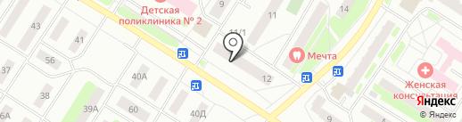 Альфа на карте Нефтеюганска