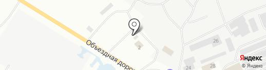 Авторынок г. Нефтеюганска на карте Нефтеюганска