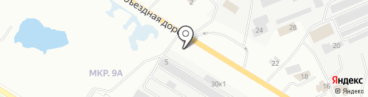 Форсаж на карте Нефтеюганска