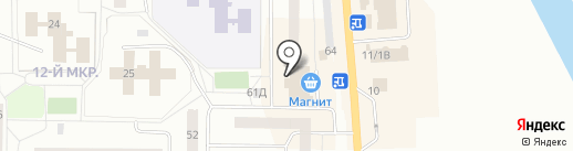 Аптека на карте Нефтеюганска