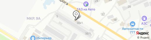 Автогласс bitstop на карте Нефтеюганска
