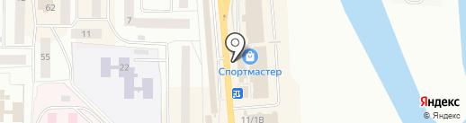 Котопёс на карте Нефтеюганска
