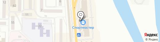 Магазин кожгалантереи на карте Нефтеюганска
