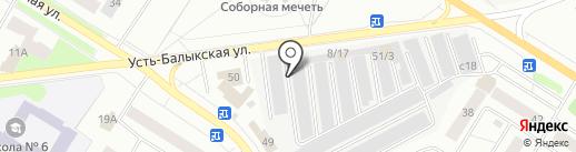 Инжектор плюс на карте Нефтеюганска