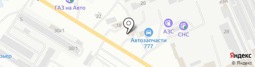 Автолюкс на карте Нефтеюганска