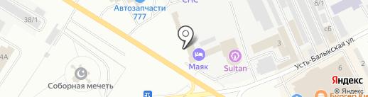 Ленд-Авто на карте Нефтеюганска