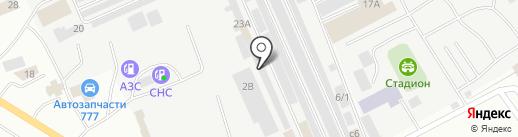 Цех аргоно-дуговой сварки на карте Нефтеюганска