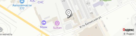 ОРИОН ТРЕЙД на карте Нефтеюганска