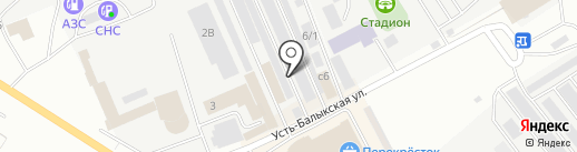 Сервисная компания на карте Нефтеюганска