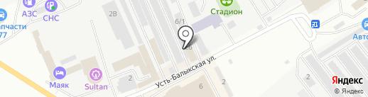 ПОДБОР АВТОЭМАЛЛИ на карте Нефтеюганска