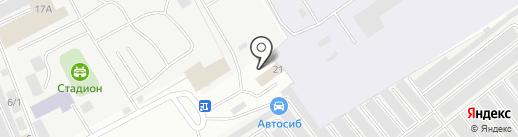 Шиномонтажная мастерская на ул. Северо-Восточная промзона на карте Нефтеюганска