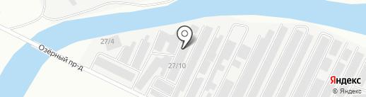 Строительная компания на карте Нефтеюганска