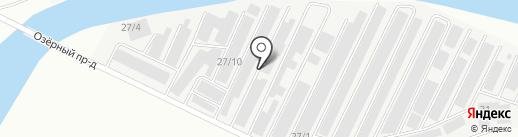 Фора Моторс на карте Нефтеюганска