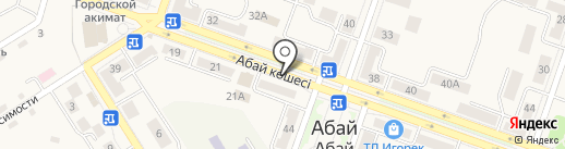 GROZNY на карте Абая