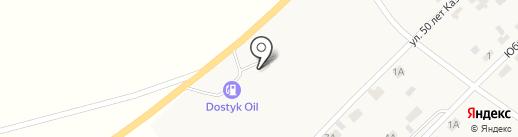 Шиномонтаж на карте Дубовки
