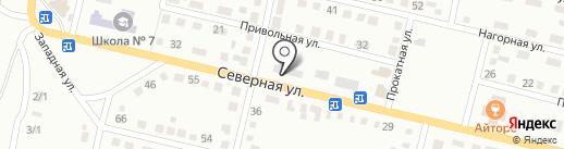 Баас-төре на карте Темиртау
