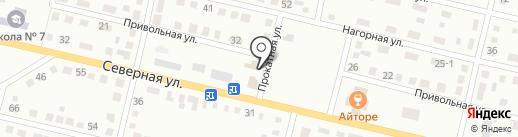 Марго на карте Темиртау