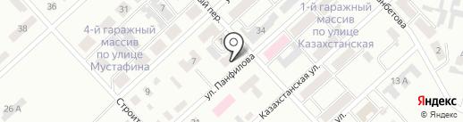 Дана на карте Темиртау