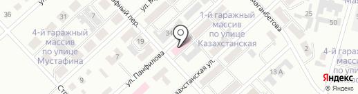 Поликлиника на карте Темиртау