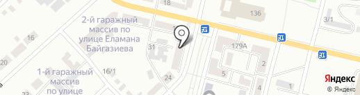 Кристина на карте Темиртау