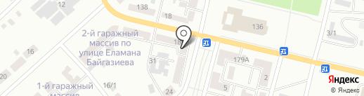 Kaspi bank на карте Темиртау