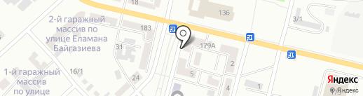 Биосфера на карте Темиртау