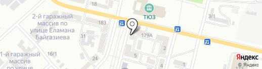 Джамиля на карте Темиртау