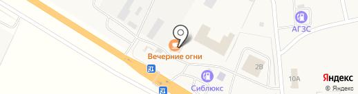 У бабы Вали на карте Красного Яра