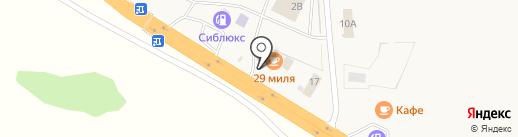 Любинский на карте Красного Яра