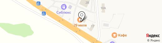 29 миля на карте Красного Яра