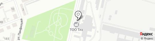 Темиртауский Литейно-Механический Завод на карте Темиртау