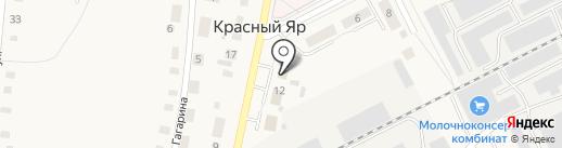 Участковый пункт полиции Отдела МВД России по Любинскому округу на карте Красного Яра