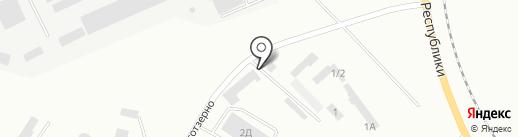 Талина-Стил, ТОО на карте Темиртау