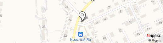 Клякса на карте Красного Яра