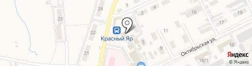 Ногтевая студия на карте Красного Яра