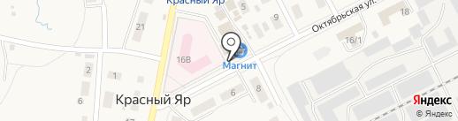 Улов на карте Красного Яра