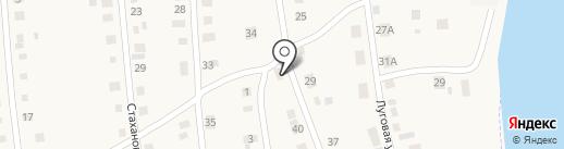 Михалыч на карте Красного Яра