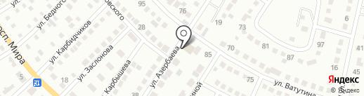 Асина на карте Темиртау