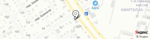 Мидас на карте Темиртау