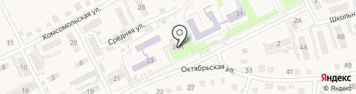 Красноярская городская библиотека на карте Красного Яра