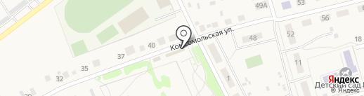 Фортуна на карте Красного Яра