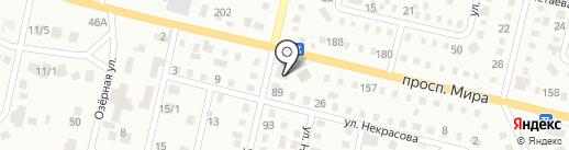 Автомагазин на карте Темиртау