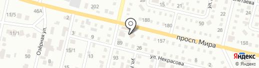 Пятачок на карте Темиртау