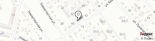 Церковь Евангельских Христиан-Баптистов на карте Темиртау